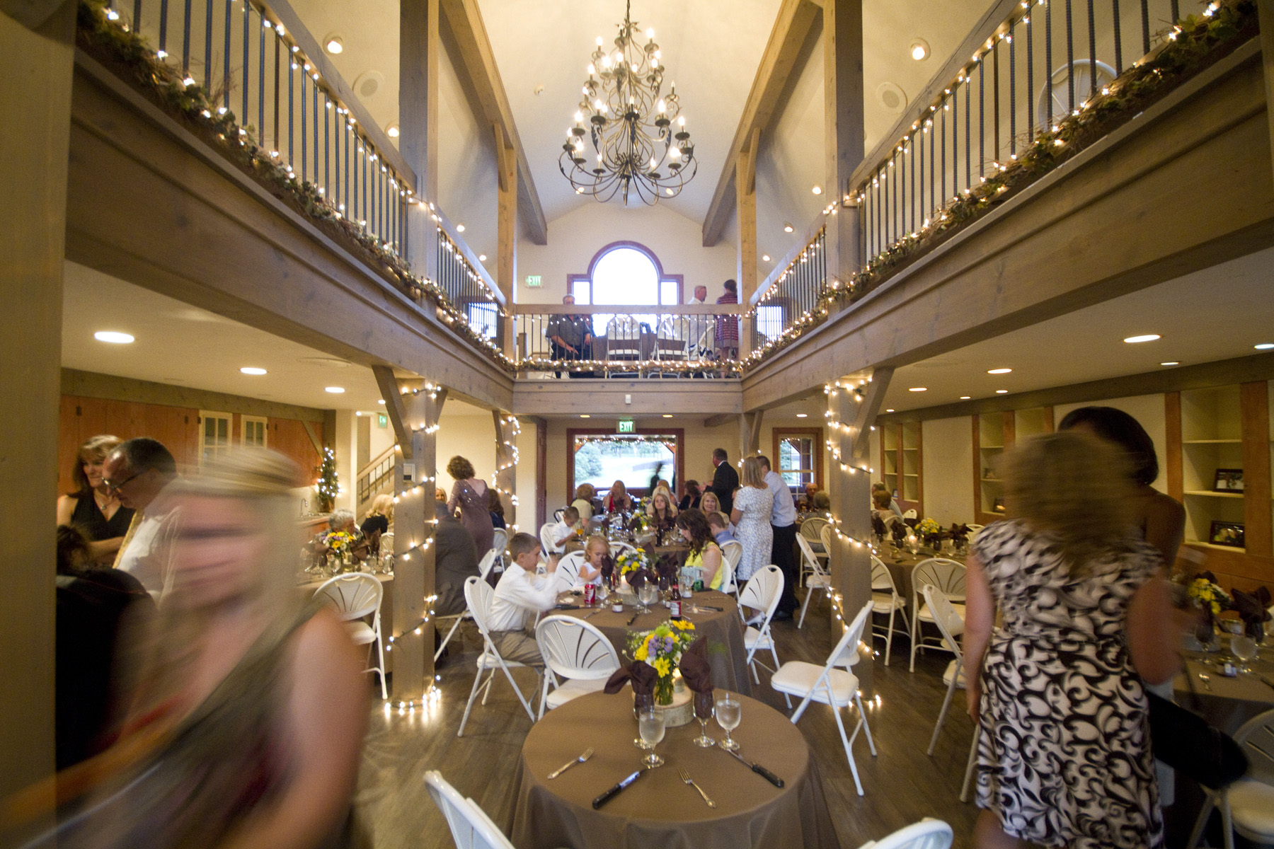 Photograph of wedding venue near Evergreen Colorado