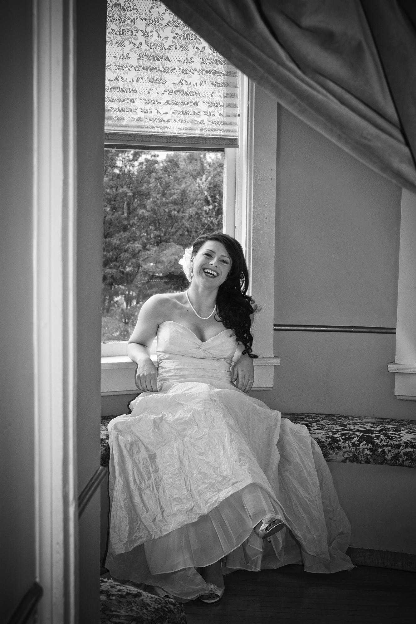 Bride portrait during a wedding in Denver Colorado